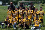 Gamber Tyker Lax Max Champions with Medals